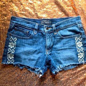 Lucky Brand Jean Shorts Sz 26